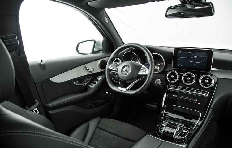 A parte interna do GLC - Mercedes / Divulgação