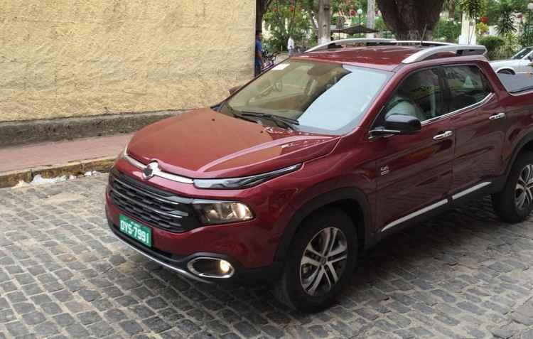 Fiat Toro já circula pelas ruas de várias cidades do interior pernambucano - Valter Lima/ cortesia