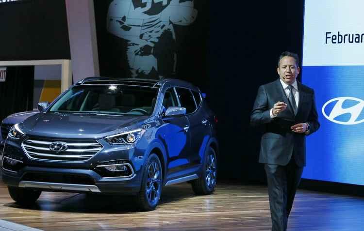 Hyundai Santa Fe 2017 - Chicago AutoShow