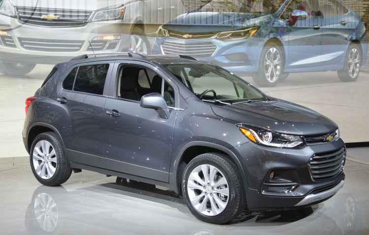 Chevrolet Tracker, chamado de Trax - Chicago AutoShow