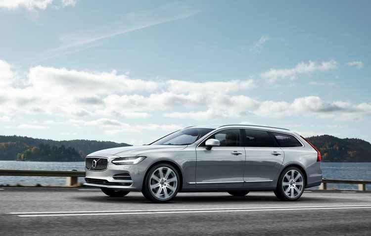 Simplesmente encantadora. Homenagem da Volvo para os fãs das peruas - Volvo / Divulgação