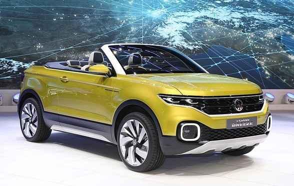 Modelo SUV conversível foi supresa no Salão de Genebra - Reprodução
