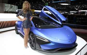 TechRules mostrou o modelo de luxo com mesma potência de um avião - Jakob Ebrey / Divulgação