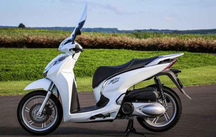 Modelo da Honda tem preço alto de R$ 23.590 - Honda / Divulgação