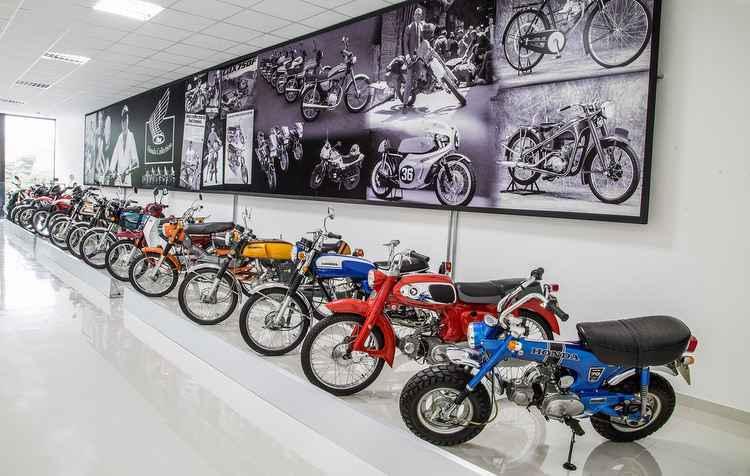 Estarão expostos cerca de 20 modelos clássicos a cada mês - Honda / Divulgação