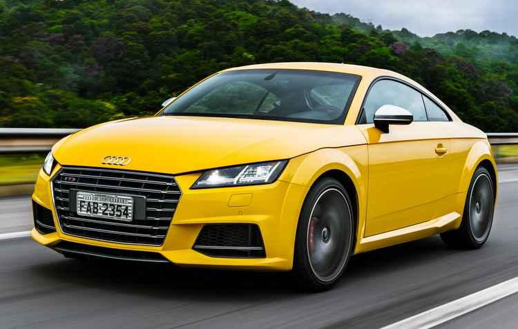 TTS Coupé traz um motor reestilizado - Audi / Divulgação