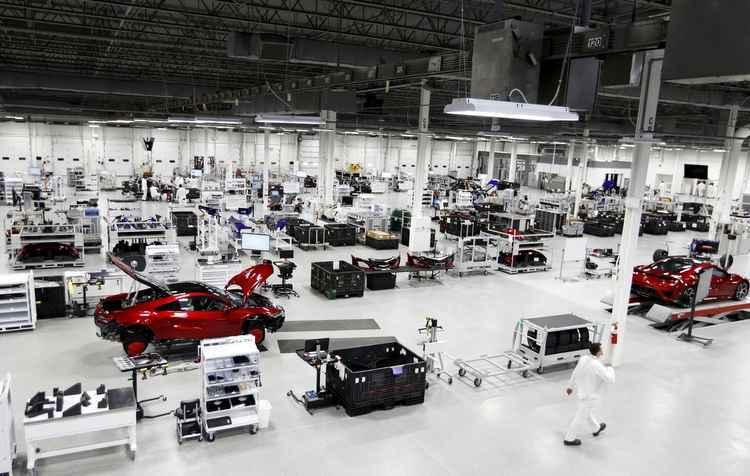 Processo de fabricação é quase todo mecanizado - Honda / Divulgação