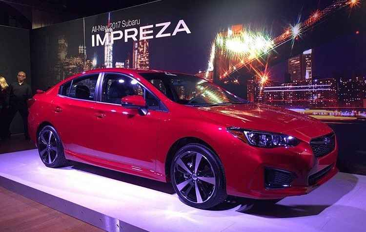 Subaru apresenta a 5ª geração do Impreza - Joint Photographic Experts Group / Divulgação