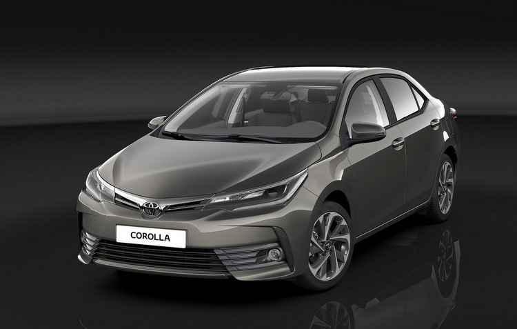 Frente remodelada dá impressão de maior largura - Toyota / Divulgação