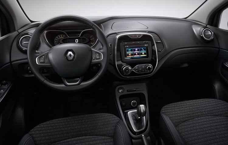 Central multimídia compatível com os aplicativos AndroidAuto e Apple Car Play deve ser de série - Renault / Divulgação