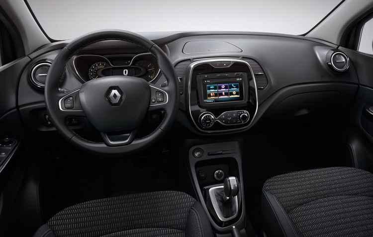 Central multimídia compatível com Android Auto e Apple CarPlay - Renault / Divulgação