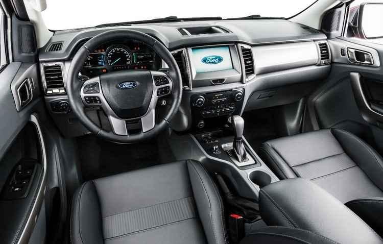 Novo sistema multimídia Sync em uma tela LCD sensível ao toque de oito polegada - Ford / Divulgação
