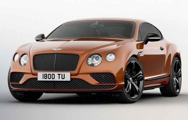 O cupê de 2,7 toneladas chega a uma velocidade máxima de 331 km/h - Bentley / Divulgação