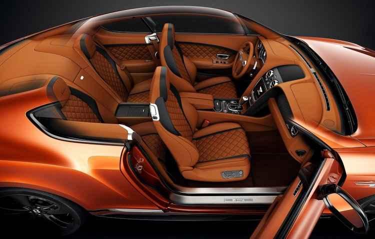 Cada modelo leva 110 horas para serem produzidos que inclui o interior feito artesanalmente - Bentley / Divulgação