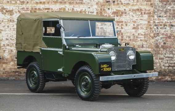 Modelo foi lançado pela primeira vez em 1948 - Land Rover / Divulgação