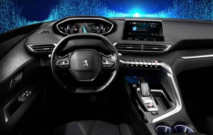 Desenho da cabine tem volante pequeno e baixo - Peugeot / Divulgação