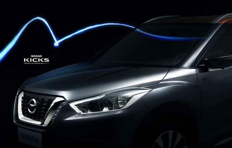 Compacto começará sendo importado do México - Nissan / Divulgação
