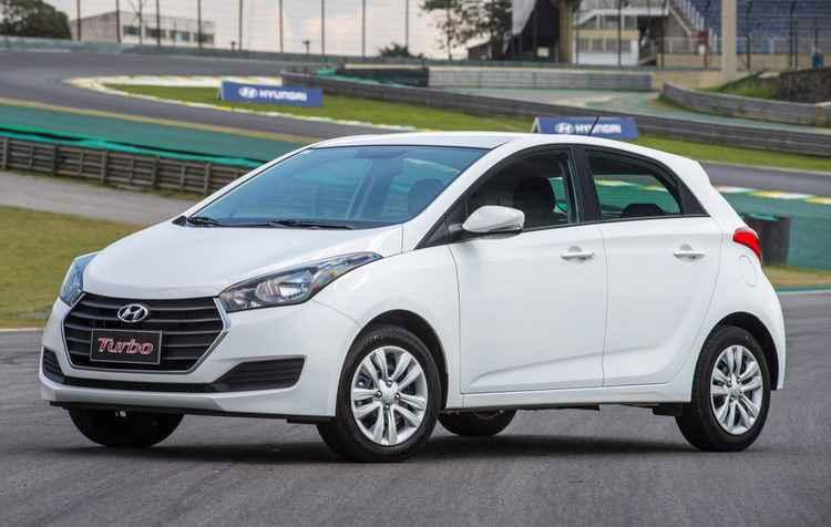 Hyundai HB20 ganhou a nova versão do motor 1.0, com turbo, de 105cv e 15kgfm - Hyundai / Divulgação