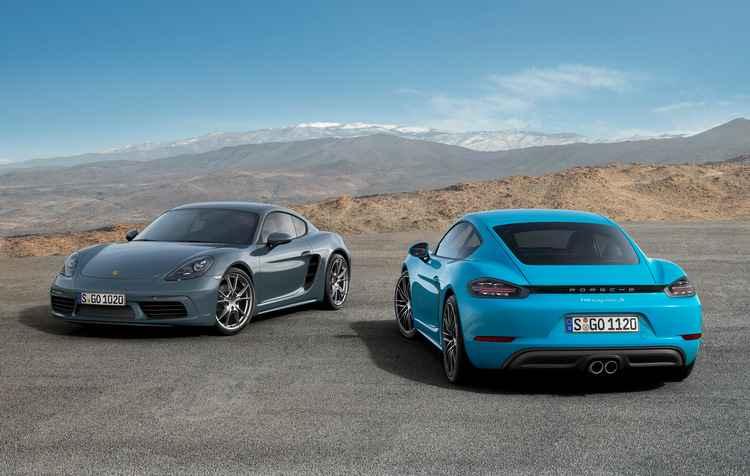 Cupê esportivo com motor entre eixos complementa a série 718 como modelo de entrada - Porsche / Divulgação