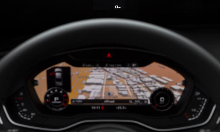 No painel, destaque para o Audi Virtual Cockpit, que exibe em uma tela de 8 polegadas bem à frente do motorista todas as informações e o mapa de navegação - Audi/ divulgação