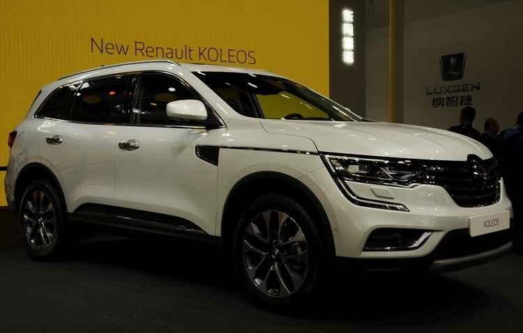 A Renault revelou o Koleos e afirma que o novo SUV é parte de uma grande ofensiva, que inclui o lançamento de 10 novos veículos ao redor do mundo em tempo recorde - Joint Photographic Experts Group / Divulgação