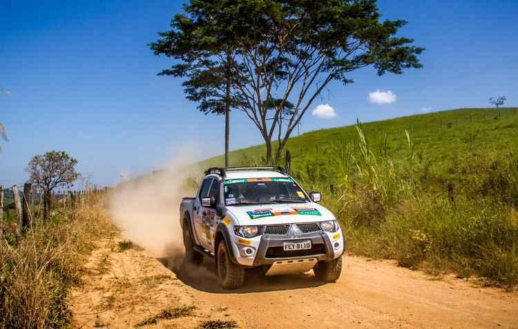 L200, Pajero ASX são os modelos que podem entrar na competição - Mitsubishi / Divulgação