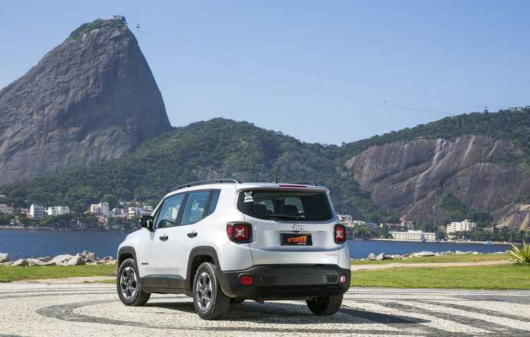 Versão Sport 2.0 subiu 3,77%, indo de R$ 105.990 para R$ 109.990 - Jeep divulgação