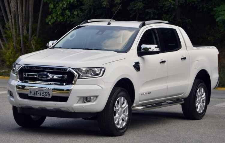 Limited, topo de linha, chega custando R$ 118.500 - Ford / Divulgação