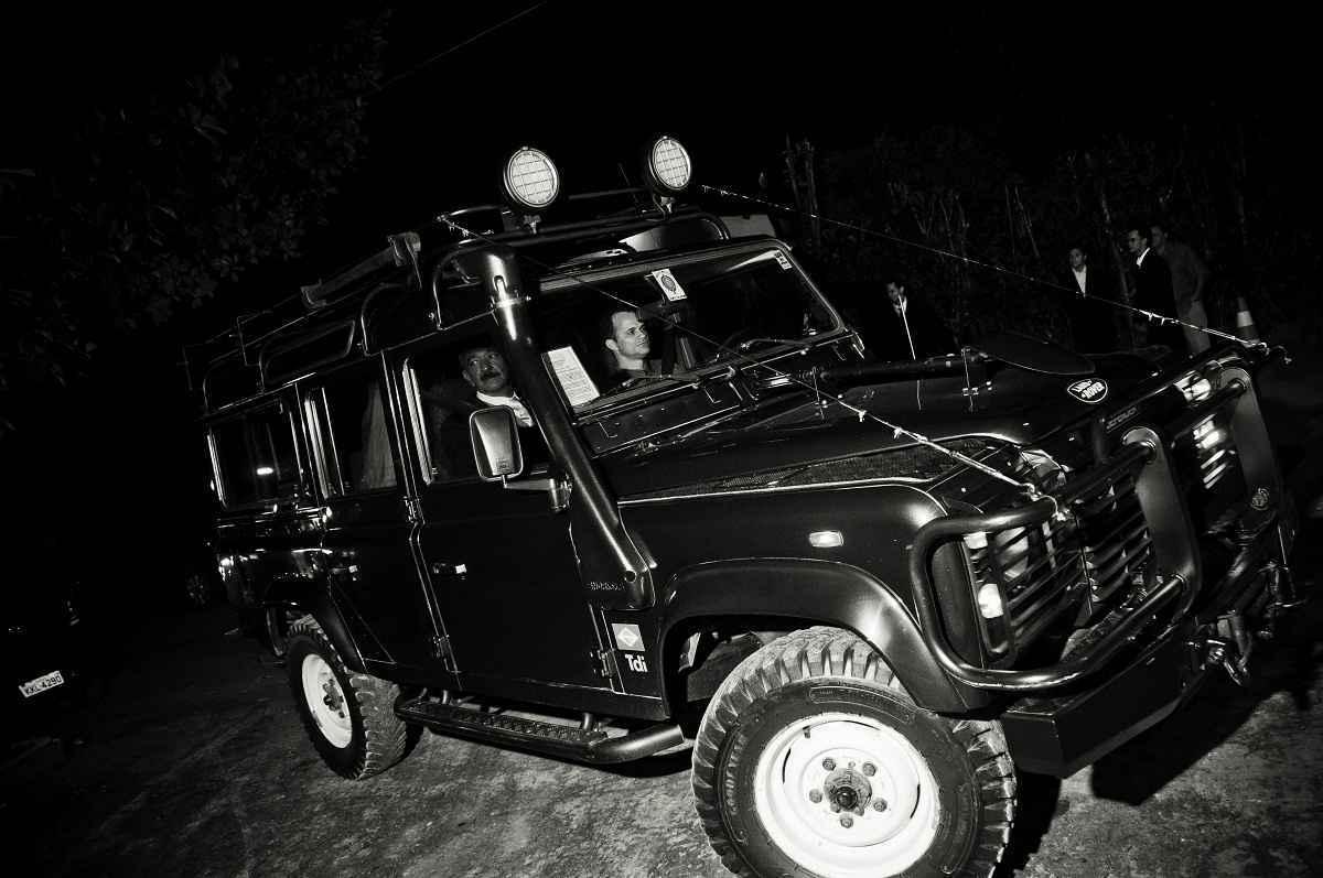 Land Rover Defender foi do dia D da arqueóloga Milena Duarte - Icone fotografia/ divulgação