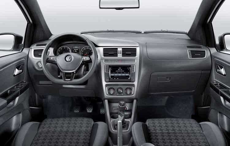 Carro conta agora com três opções de centrais multimídia - Volkswagen/Divulgação
