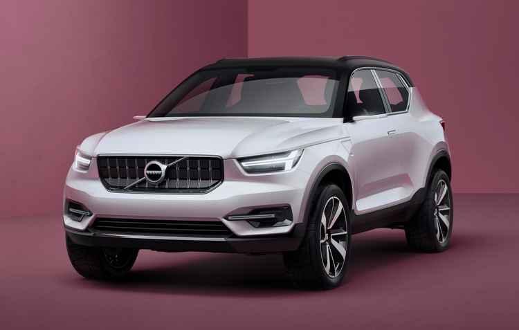 Projeto 40.1 será o primeiro carro da família 40 em 2017 - Volvo / Divulgação