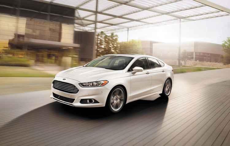 O carro protótipo será um modelo da Ford, o Fusion - Ford / Divulgação