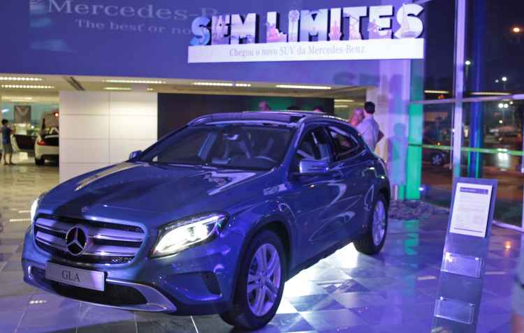 Mercedes-Benz acusada nos EUA de emitir em seus veículos níveis de óxido de nitrogênio superiores ao autorizado por lei  - Ricardo Fernandes / DP