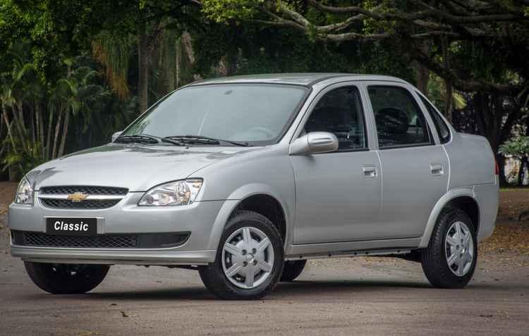 Modelo teve até câmbio automático nos anos de 2004 e 2005, devido aos altos índices de vendas no mercado - Fabio Gonzalez/Divulgacao