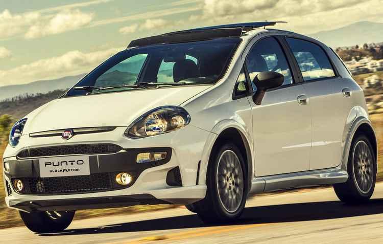 A linha 2017 do Fiat Punto chegou mais cara, com preços a partir de R$ 51.650 - Fiat/Divulgação
