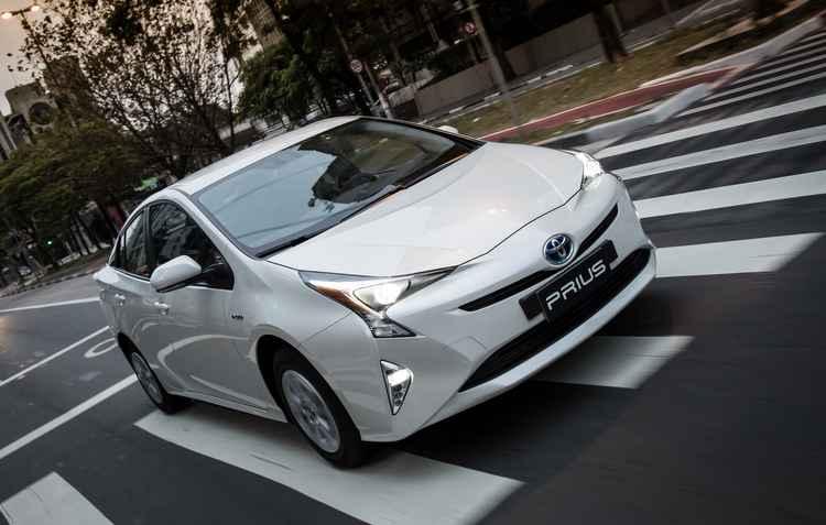 Híbrido japonês chega às lojas a partir de amanhã com o preço de R$ 119.950 - Toyota / Divulgacao