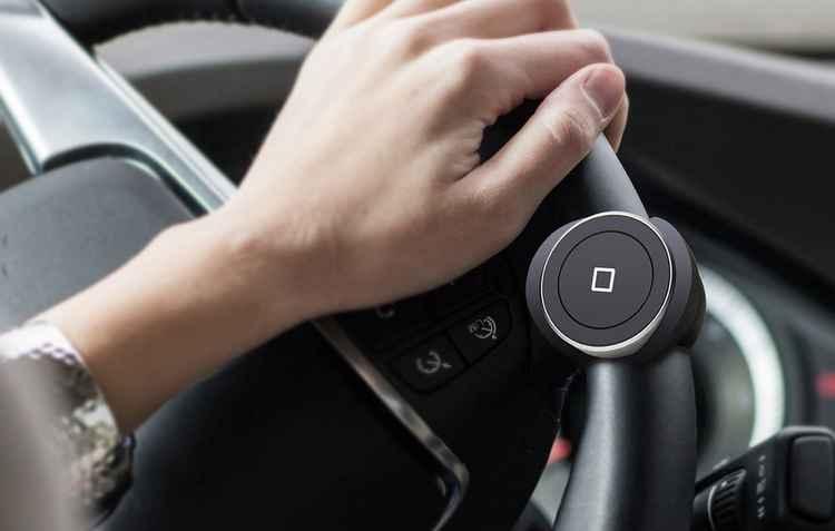 Acessório Satechi Bluetooth Home button pode ser opção para carros básicos - Satechi/Divulgação