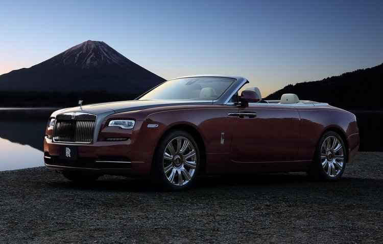 Rolls Royce Dawn é a novidade da montadora que será mostrada no espaço - Rolls Royce / Divulgação