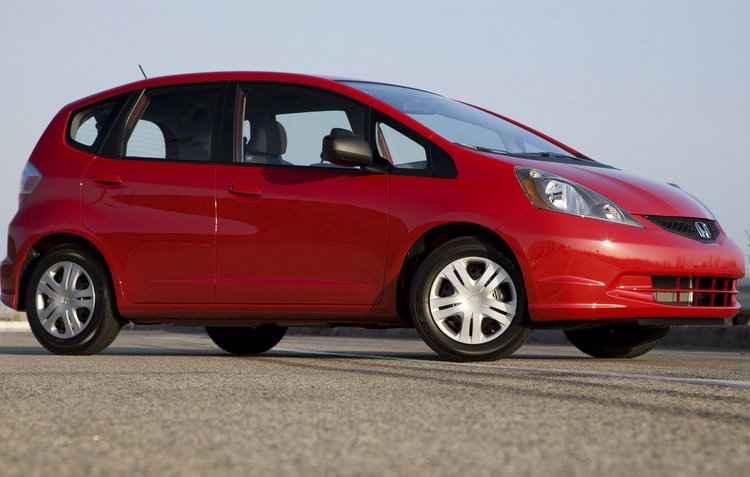 Alguns modelos comercializados entre 2009 e 2011 do Honda Fit foram atingidos pelo recall - Honda / Divulgação