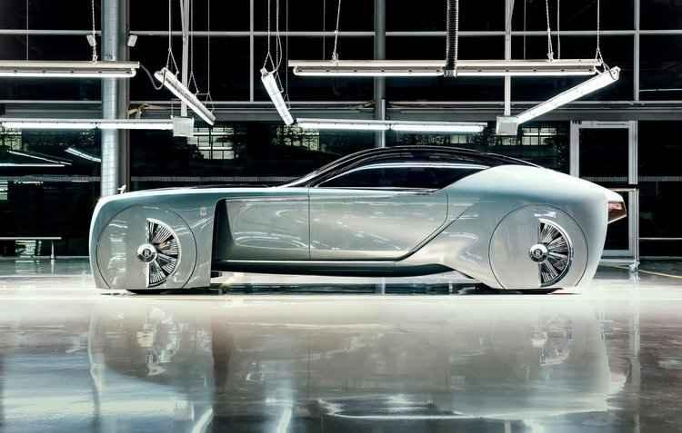 Primeiro conceito criacional e futurista em 112 anos de história - Rolls-Royce / Divulgação