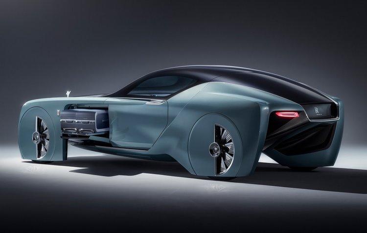 Projeto revela como a empresa imagina seus carros pelos próximos 100 anos - Rolls-Royce / Divulgação