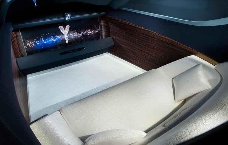 Interior pode se transformar em uma sala de estar - Rolls-Royce / Divulgação