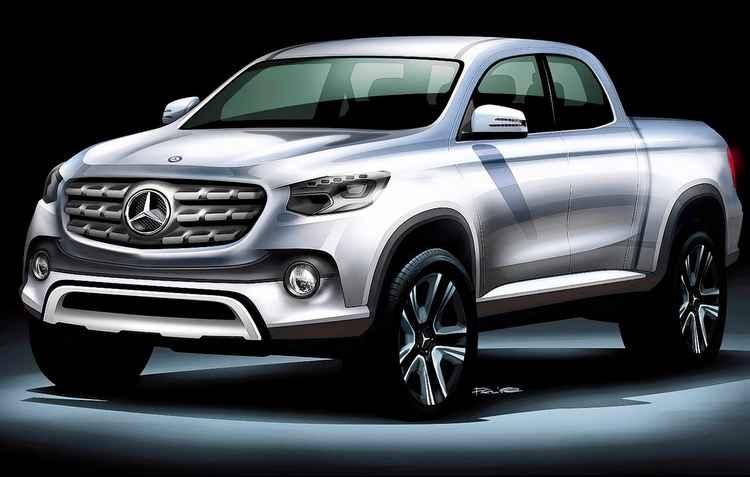 Previsto para chegar no final de 2018, futuro GLT é aposta da Mercedes no segmento - Mercedes-Benz / Divulgação