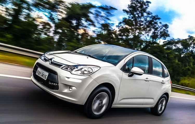 Sem mudanças no visual, carro tem para-brisa Zenith na versão top Tendance - Citroën / Divulgação