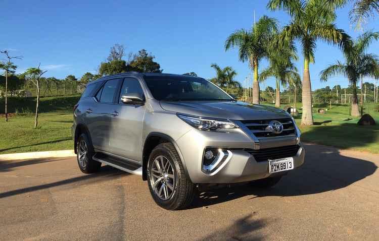 Nova SW4 é o SUV mais seguro, de acordo com testes da Latin NCAp - Jorge Moraes / DP