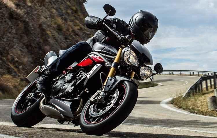 Speed Triple chega na versão R que conta com 140 cv, mas até 10% mais eficiente que o modelo anterior no consumo de combustivel - Triumph /Divulgação