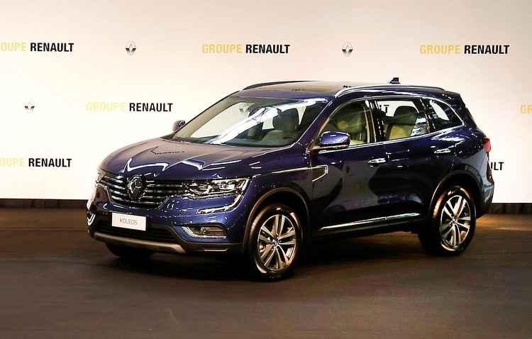 Koleos virpa importado - Renault / Divulgação