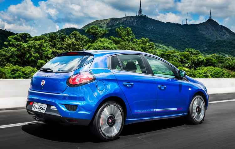 Desde o Tempra Turbo, nos anos 1990, e do Marea Turbo, nos anos 2000, a Fiat sempre figura no topo do ranking dos carros nacionais mais velozes - Pedro Bicudo / Fiat / Divulgação