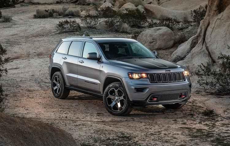 Suspeitos foram presos enquanto dirigiam um Jeep Grand Cherokee - Jeep / Divulgação