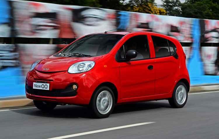 Chery QQ é uma boa opção para quem quer um carro completo na faixa dos R$ 30 mil - Chery / Divulgação